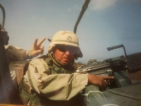 Corporal Matthew S Thompson USMC 2000-2004 Iraq Post 5447 Commander