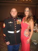 Sgt. Erin Locklear Workman USMC 2000-2008 Iraq Post 5447 Secretary and Sgt.Philip M Workman USMC 1995-2005 Iraq Post 5447 Board of Directors